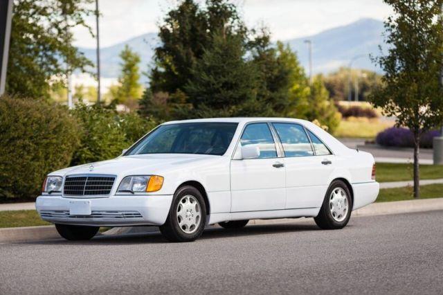1992 mercedes benz 600 sel v 12 600sel sedan like new for for 1992 mercedes benz 600 class