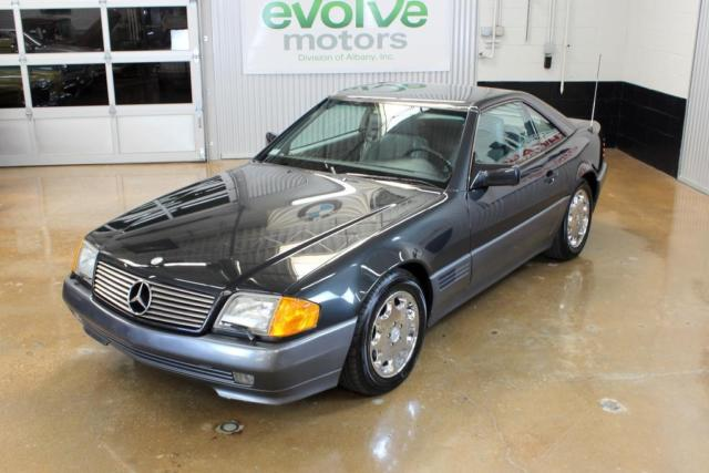 1992 Black Mercedes-Benz SL-Class Blue-Black, 93k, NICE with Gray interior