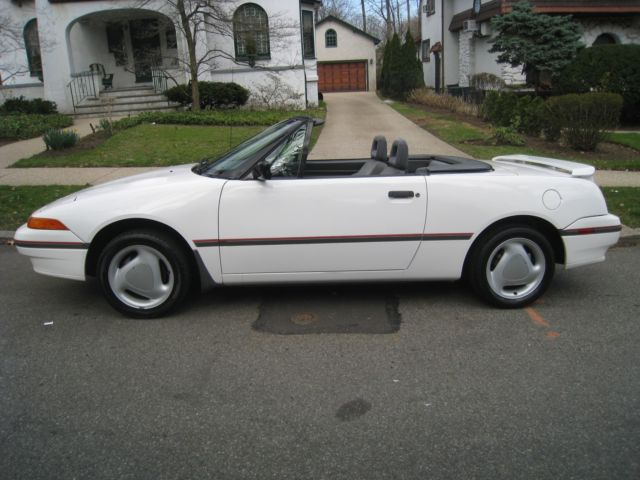1992 Mercury Capri XR2 Turbo Convertible 5 Speed Manual No Rust Cold AC