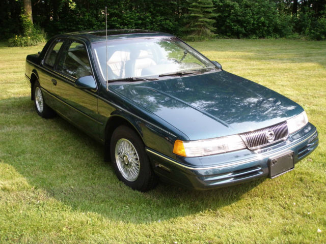 1992 Mercury Cougar 25th Anniversary