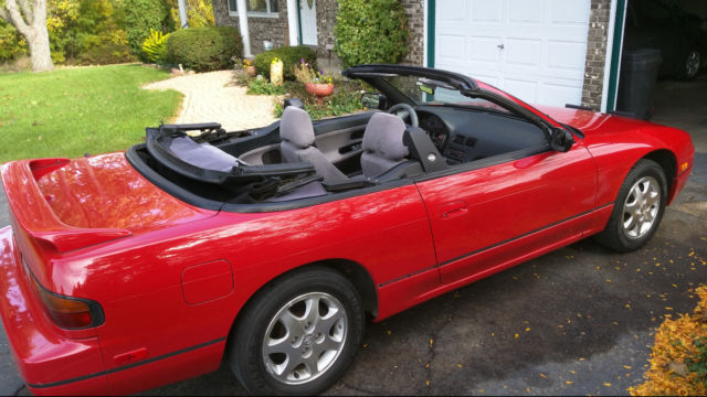 1992 Nissan 240SX Special Edition Convertible