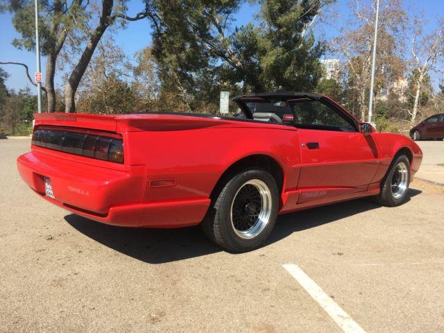 1992 Pontiac Trans Am Convertible  Very Rare Factory 5