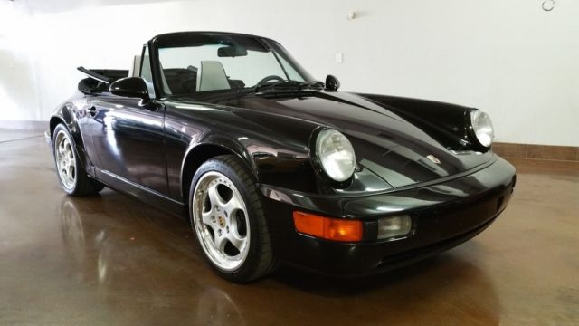 1992 Porsche 964 5 Speed 911 convertible