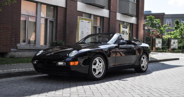 1992 Porsche 968 Base Convertible 2-Door