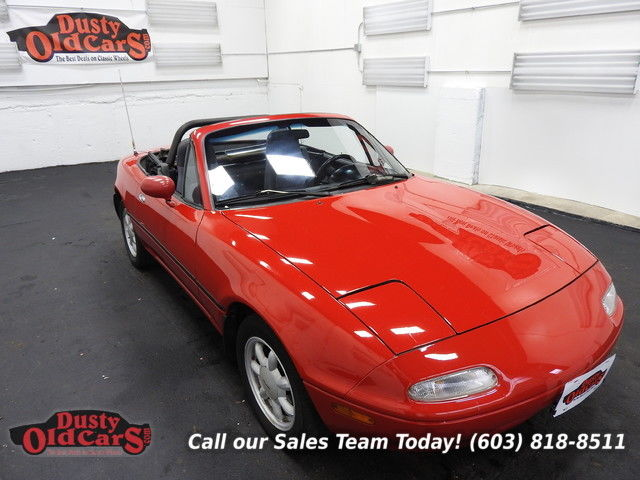 1992 Mazda MX-5 Miata Runs Drives Body Inter VGood 1.6L I4 4 spd auto