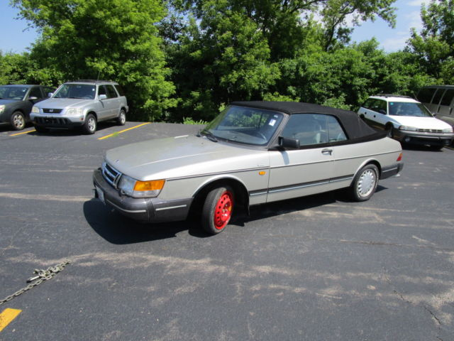 1992 Saab Other 2dr Converti