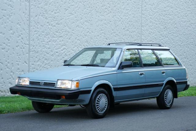 1992 Subaru Loyale 4WD Station wagon 5-Speed Manual ONLY 33K MILES