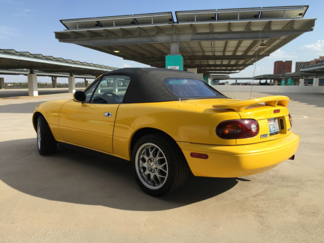 1992 Sunburst Yellow Na Mazda Miata For Sale Photos