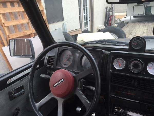 1992 Suzuki Samurai built toyota axles tcase gears turbo yj