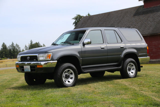 1992 toyota 4runner sr5 4x4 v6 5 speed super low miles. Black Bedroom Furniture Sets. Home Design Ideas