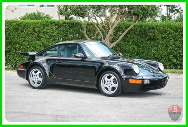 1992 Porsche 911 TURBO  1 OF 289, CERTIFICATE, BOOKS TOOLS RECORDS