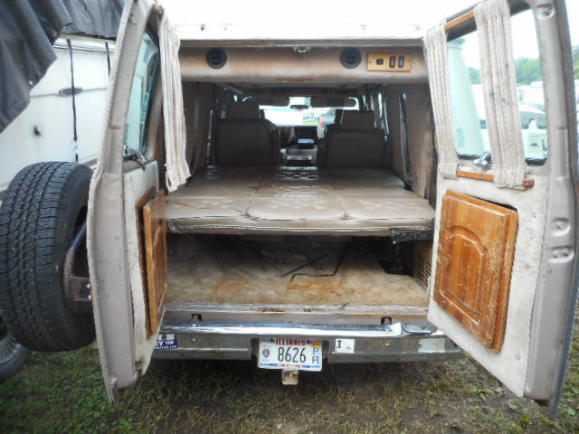 1992 VAN GMC EXPLORER VANDURA MODEL 2500 CONVERSION HALF TON