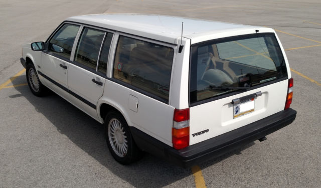 1992 Volvo 740 wagon with 5 7L LS1 V8 engine conversion and 6 speed