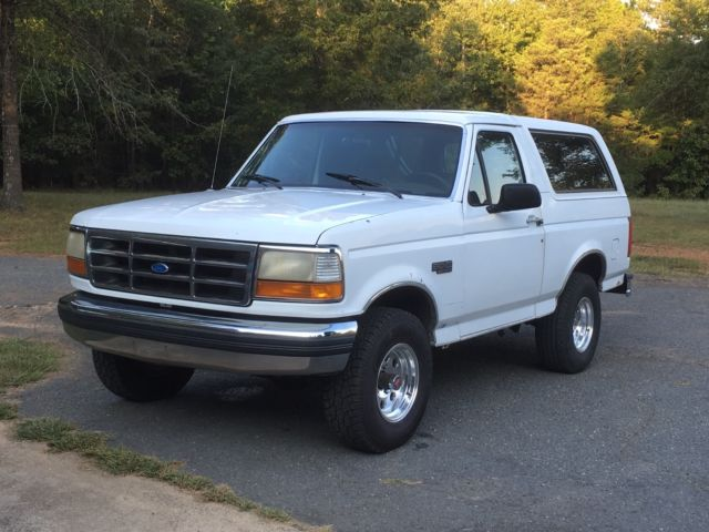 1992 Ford Bronco XLT
