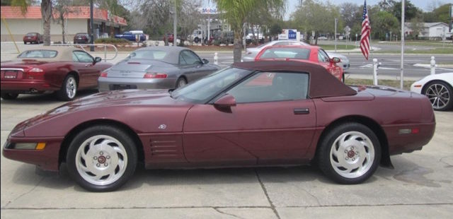 1993 Chevrolet Corvette 40th Anniversry