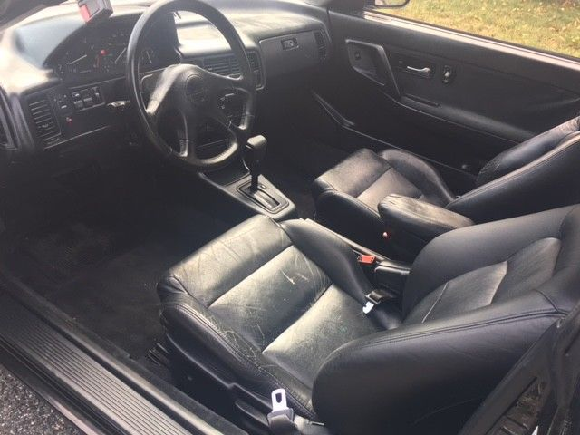1993 Black Acura Integra with Black interior
