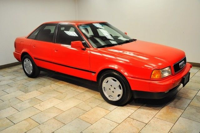 1993 Audi 90 S RED/GREY LOW MILES for sale: photos ...