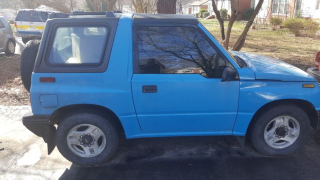 1993 blue 4x4 manual geo tracker 179k miles for sale photos rh topclassiccarsforsale com 1994 geo tracker manual 1994 geo tracker manual