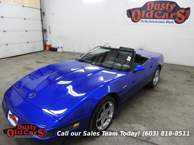 1993 Chevrolet Corvette Runs Drives Body Int Excel 350V8 6spd