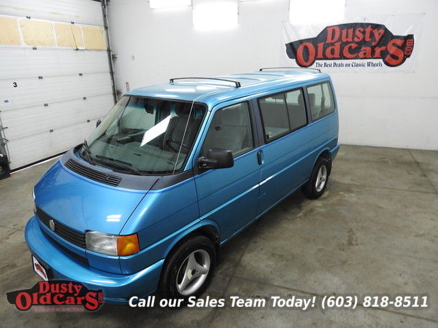 1993 Volkswagen EuroVan Runs Drives Body Inter VGood 2.5L I4 5 Spd Man
