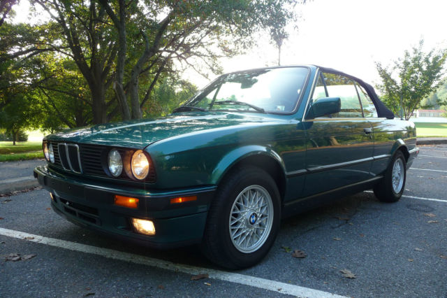 1993 BMW 3-Series Base Convertible 2-Door