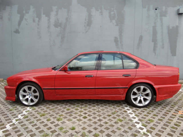 1993 BMW 5-Series New Body Kit and Paint