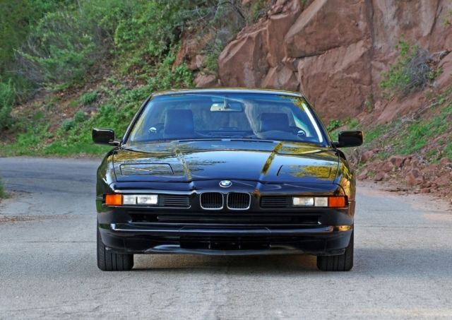 1993 BMW 8-Series 850Ci - 41k Original Miles, Blk/Blk, 2 Owners