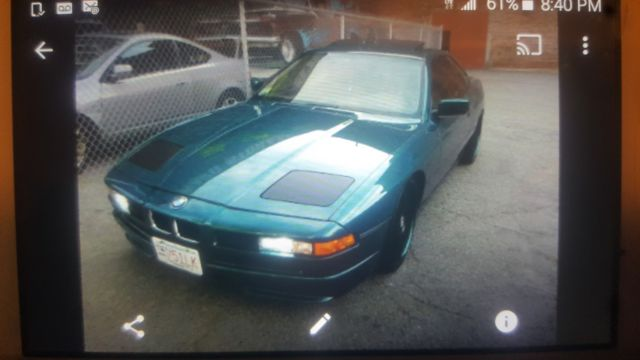 1993 BMW 8-Series 850ci
