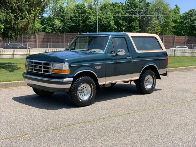 1993 Bronco 5.8 liter Tow package Limited Slip 93k Actual Miles GORGEOUS!