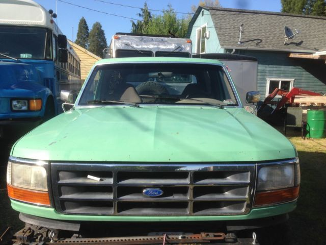 1993 Ford Bronco Cummins 5.9 diesel