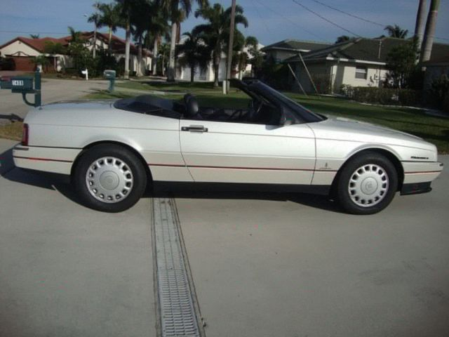 1993 Cadillac Allante 120000 miles Excellent condition Owned since 1993