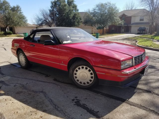 1993 Cadillac Allante Base Convertible 2-Door