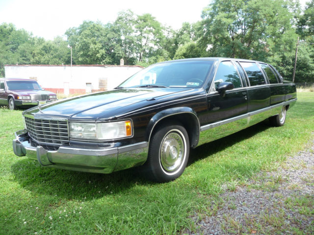 1993 Cadillac Brougham limo