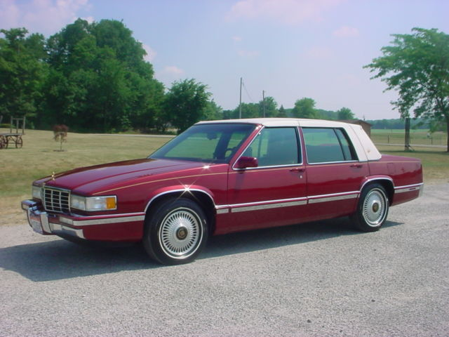 1993 Cadillac Sedan Deville Spring Edition 89 700 Mile