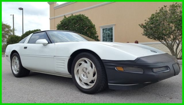 1993 Chevrolet Corvette C4 40TH ANNIVERSARY CLEAN CARFAX FL NO RESERVE!!