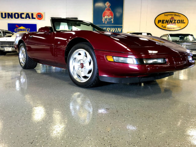 1993 Chevrolet Corvette 4OTH ANNIVERSARY 6,600 MILES - 6 SPEED