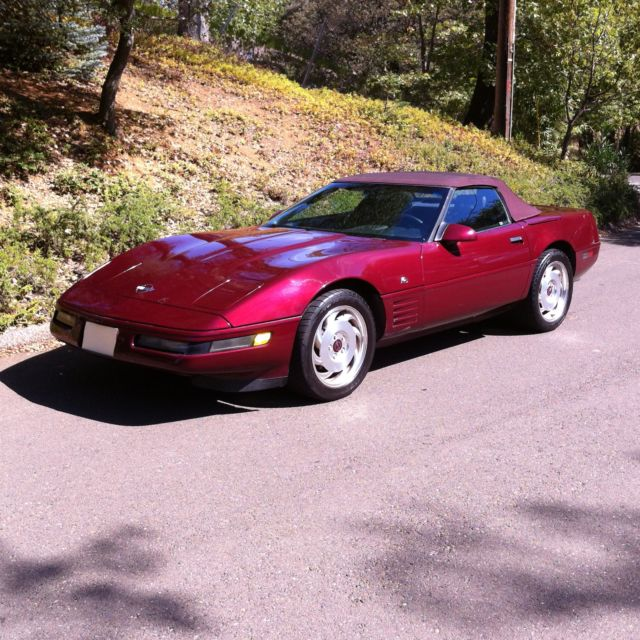 1993 Chevrolet Corvette 40th Anniversary Edition Convertible