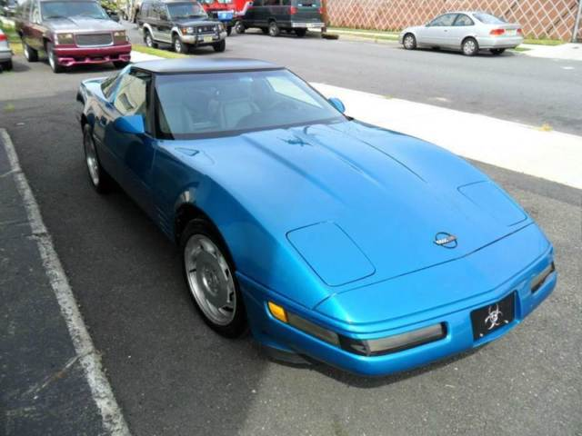 1993 Chevrolet Corvette Base 2dr Hatchback Hatchback Automatic 4-Speed