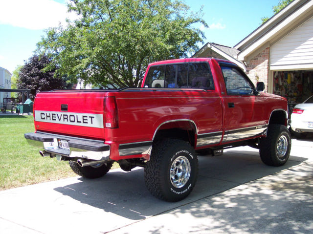 1993 chevrolet k 1500 silverado reg cab short box for sale photos technical specifications. Black Bedroom Furniture Sets. Home Design Ideas