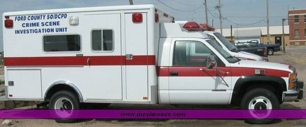 1993 Chevrolet C/K Pickup 3500 Norton Ambulance