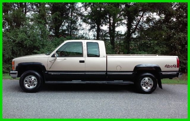 1993 chevrolet silverado 2500 6 5l low miles 4wd free ship for sale photos technical. Black Bedroom Furniture Sets. Home Design Ideas