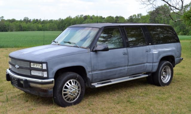 1993 chevrolet suburban 3 4 ton dually 4x4 must see for sale photos technical