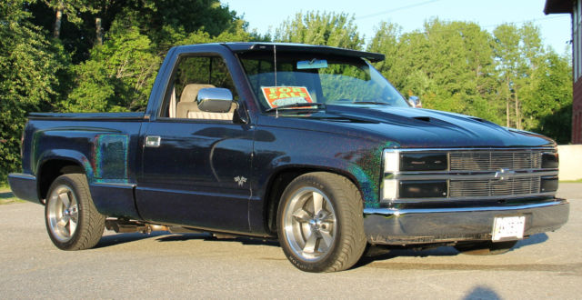 1993 chevy silverado 2wd stepside custom show truck for sale photos technical specifications. Black Bedroom Furniture Sets. Home Design Ideas