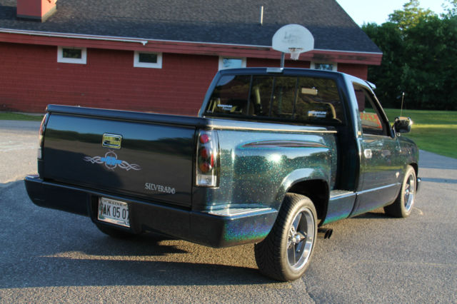 1993 Chevy Silverado 2wd Stepside Custom Show Truck For Sale  Photos  Technical Specifications