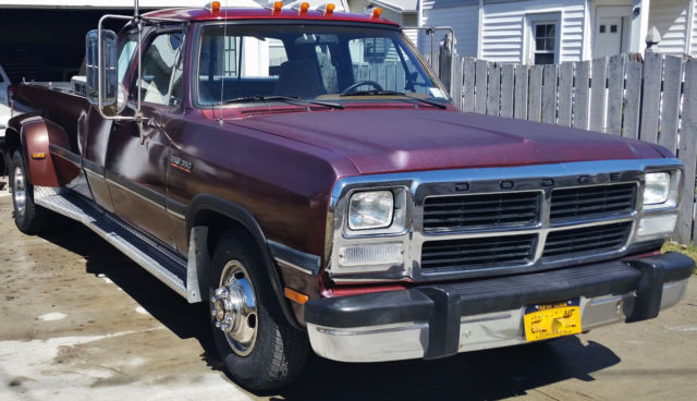 1993 D350 Dodge Cummins 12 Valve 1 Ton Pickup Truck For Sale Photos Technical Specifications Description
