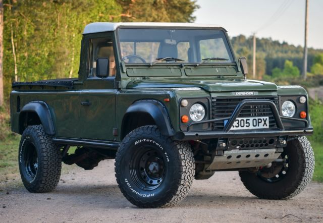 1993 Defender 110 Pick Up, King Racing Off Road Suspension ...