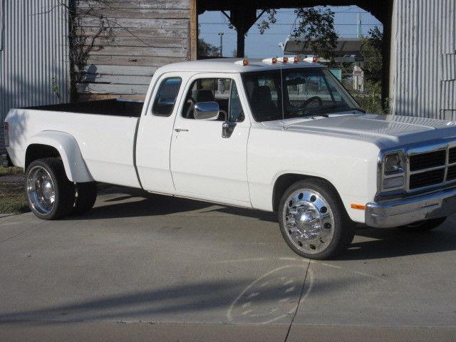 Dodge D Extended Cab Dually St Gen Cummins Diesel on 1993 Dodge Ram 3500 Dually 4x4