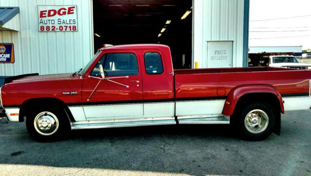 1993 Dodge D350 pickup Diesel Dually 1st gen **True Survivor for ...