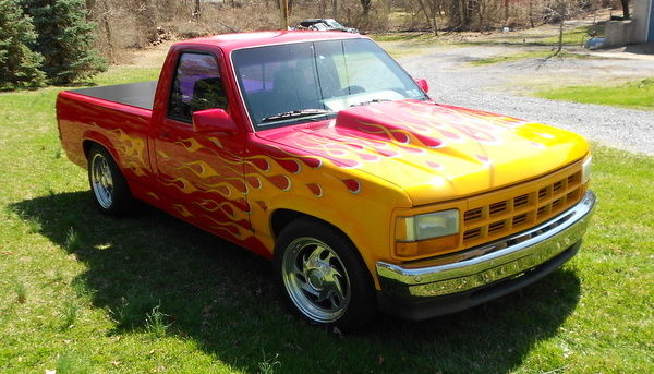 1993 dodge dakota street rod truck for sale photos. Black Bedroom Furniture Sets. Home Design Ideas