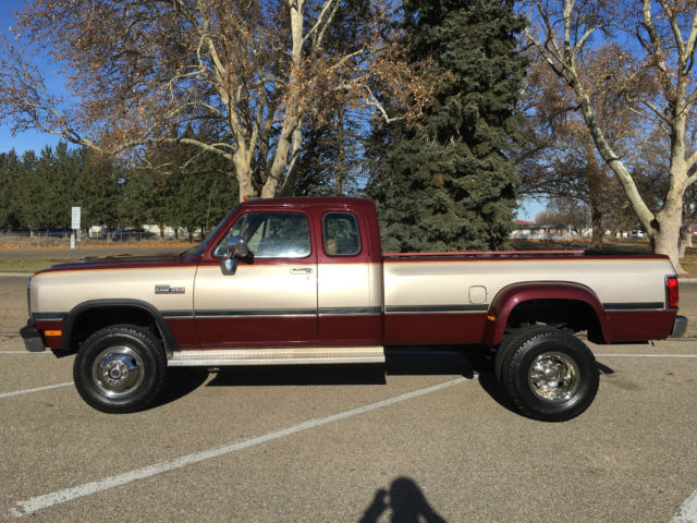 1993 dodge ram 350 4x4 5 9l cummins diesel dually extended cab 87k. Cars Review. Best American Auto & Cars Review